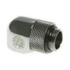 Bitspower Winkel G1/4 - G1/4 - fényes ezüst, forgatható