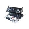 Bittydesign Stealth křídlo černé pro 1/8 buggy/truggy