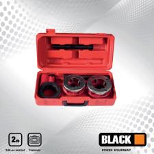 BLACK csőmenetmetsző készlet 2 darabos 37002 menetmetsző, menetfúró