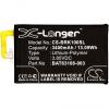 Blackberry KEYone, Akkumulátor, 3400 mAh, Li-Polymer, BAT-63108-003 kompatibilis