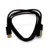 BlackBird Type-C USB Adatkábel 1m, Fekete (Gyári kivitel) (BH996_BLACK)