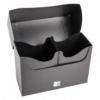 Blackfire Deck Box - kártya tartó doboz - fekete (160 kártya) - /EV/