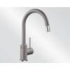 Blanco MIDA-S SILGRANIT kihúzható perlátoros mosogató csaptelep (alumetál, 521456)