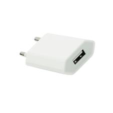 BlueStar Hálózati USB tölto 1A fehér kábel és adapter
