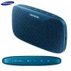 Bluetooth hordozható hangszóró, 2600 mAh belső akku, 3,5 mm jack, Samsung Level Box Slim, kék, gyári, EO-SG930CLEG