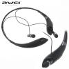 Bluetooth sztereó headset, nyakba akasztható, multipoint, AWEI A810, fekete