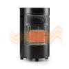 Blumfeldt Bonaparte gázkályha, infravörös kerámia hősugárzó, 4,2 kW, fekete