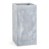 Blumfeldt Solidflor, világosszürke, virágcserép, virág konténer, 40x80x40 cm, fiberton