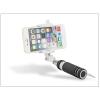 Blun Blun Selfie Holder szelfi bot exponáló gombbal, 3,5 mm jack csatlakozóval - fekete/fehér
