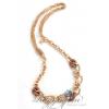 Boccadamo Jewels - aranyozott bronz nyakék - Glitter