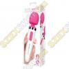 bodywand Aqua Mini akkus vízálló masszírozó vibrátor - fehér-rózsaszín
