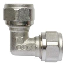 Bonomi 16-16 szorítógyűrűs 90°-os könyök idom ötrétegű kulcsos idom hűtés, fűtés szerelvény