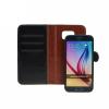 Book + szilikon tok - Samsung J500 Galaxy J5 - fekete