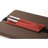 Bookchair Bőrből készült tolltartó tok és könyvjelző Bookchair Walden Piros