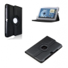 Bőrtok, Samsung Galaxy Note 8.0 mappa tok N5100, elforgatható (360°) fekete
