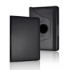 Bőrtok, Samsung Galaxy Tab 3 10.1 P5200 - P5210, mappa tok, elforgatható (360°) fekete