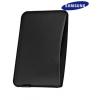 Bőrtok, Samsung P7300 Galaxy Tab 8.9 tok, gyári, EFC-1C9LB, fekete