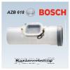 Bosch AZB 618 Vizsgálónyílás vízszintes és függőleges vezetékhez, ? 80 mm, L=250 mm