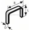 Bosch tűzőkapocs 53-as típus 1000 db/csomag