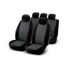 Bottari J9 9 részes üléshuzat szett, szürke-fekete