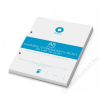 BOXER Gyűrűs könyv betét, A5, vonalas, 50 lap, BOXER, fehér (BOXGYB5V)