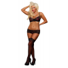 Bra & Boy Short Set/ - Black, - M/