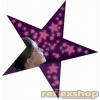 Brainstorm Cosmic Glow Foszforeszkáló Csillámporos Csillagok Rózsaszínben