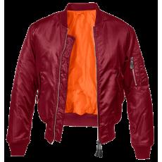 Brandit MA1 bomber pilot dzseki, piros