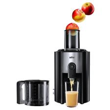 Braun J500 gyümölcsprés és centrifuga