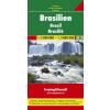 Brazília autótérkép - f&b AK 173