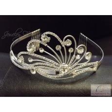 BRH-T-1109 esküvői tiara