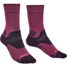 Bridgedale Hike MW MP Boot Zoknie: 38-40 / lila női zokni