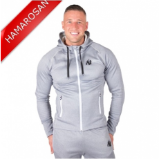 BRIDGEPORT ZIPPED HOODIE - SILVERBLUE (SILVERBLUE) [L]