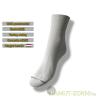 Brigona Komfort gumi nélküli zokni - fehér 39-40