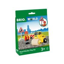 BRIO Útépítő szett Brio autópálya és játékautó