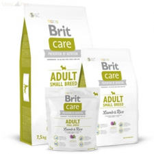 Brit Care bárány+rizs Adult small breed 7,5 kg kutyaeledel