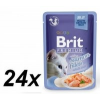 Brit Premium Cat Delicate Fillets in Jelly with Beef 24 x 85 g