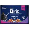 Brit Premium Cat Fish Plate Multipack 400g