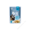 Brit Premium Cat tasakos Delicate Fillets in Gravy with Turkey 85g