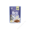 Brit Premium Cat tasakos Delicate Fillets in Jelly with Beef 85g