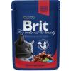 Brit Premium Cat with Beef Ste W & Peas 2.4kg