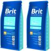 Brit Premium Puppies 2*15 kg
