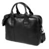 Brodrene férfi bőr laptop táska fekete