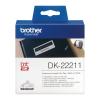 Brother DK-22211 29mm x 15,24m folytonos öntapadós fehér szalagcímke