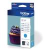 "Brother LC123C Tintapatron ""DCP-J4110DW, MFC-J4410DW"" nyomtatókhoz, BROTHER kék, 600 oldal"