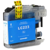 Brother LC223XL C cyan festékpatron - utángyártott chipes PQ 10ml J4120DW J4420DW J4620DW J5320DW J5620DW