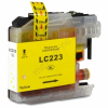 Brother LC223XL Y yellow festékpatron - utángyártott chipes 10ml J4120DW J4420DW J4620DW J5320DW J5620DW