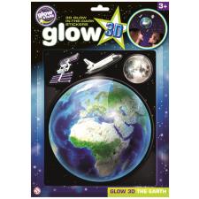 BS Glow 3D Föld foszforeszkáló matrica lakástextília