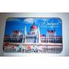 Budapesti Országház, kalocsai mintával lapmágnes