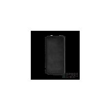 BUGATTI Parigi Apple iPhone X valódi bőr flip tok kártyatartóval, fekete tok és táska